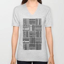 The Bookish Checkerboard Unisex V-Neck