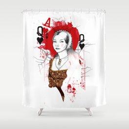 Anne Boleyn Shower Curtain