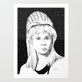 Yeoman Janice Rand Art Print