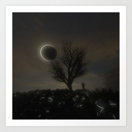 Eclipse Noon Art Print