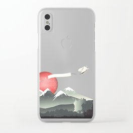 Fortuna's Message Clear iPhone Case
