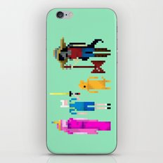 Adventure Time Gang iPhone & iPod Skin