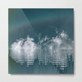 Icing Clouds Metal Print