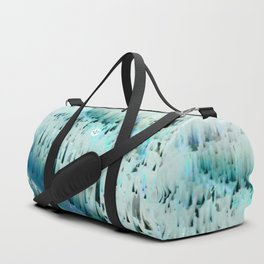White Landscape / Snow Duffle Bag