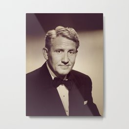 Spencer Tracy, Hollywood Legend Metal Print