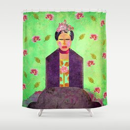 Frida Kahlo´s Dreams Shower Curtain
