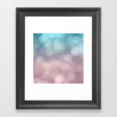 Dreaming of Cotton Candy Framed Art Print