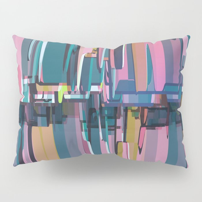 Abstract Composition 638 Pillow Sham