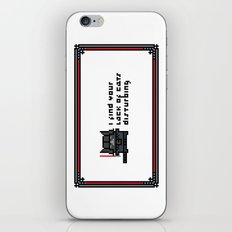 I find your lack of cats disturbing iPhone & iPod Skin