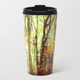 Woodland Abstract Travel Mug