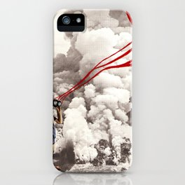 explosive views iPhone Case
