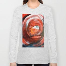 Lady in Veil Long Sleeve T-shirt