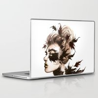 crow Laptop & iPad Skins featuring Crow by Nora Bisi