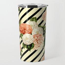 Chrysanthemum Rain Travel Mug