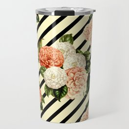 Chrysanthemum Rain Travel Mug