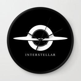 Interstellar - Gargantua Minimalist Wall Clock