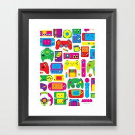 AXOR Heroes - Love For Games Framed Art Print