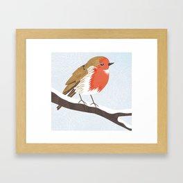 Robin. Framed Art Print