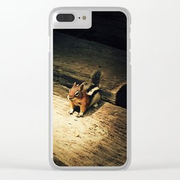 Cute Critter Clear iPhone Case