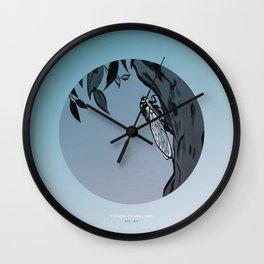 [8.13—8.17] Evening Cicadas Sing Wall Clock