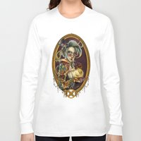 steampunk Long Sleeve T-shirts featuring Steampunk by Mili Koey