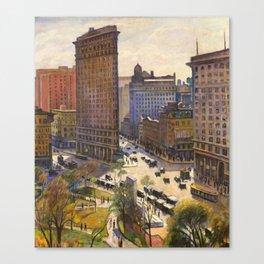 The Flatiron Building by Samuel Halpert, 1919 - NYC Canvas Print