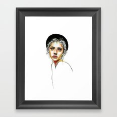 Out of the Shell Framed Art Print