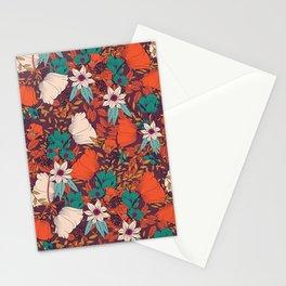 Botanical pattern 010 Stationery Cards