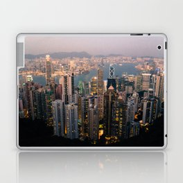 Hong Kong (Sunset over Victoria's Peak) Laptop & iPad Skin