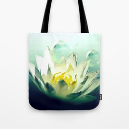Ocean's Lotus Tote Bag