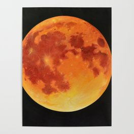Full bloody moon Poster