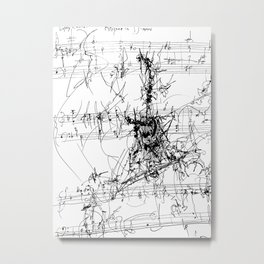 Rhizome in D Minor Metal Print