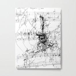 Rhizome in D Minor Metal Print