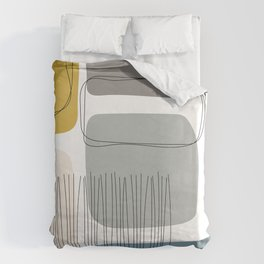 Abstract Shapes 01 Duvet Cover