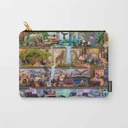 The Amazing Animal Kingdom Carry-All Pouch