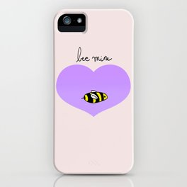 Bee Mine, Oh My Cliche Valentine iPhone Case