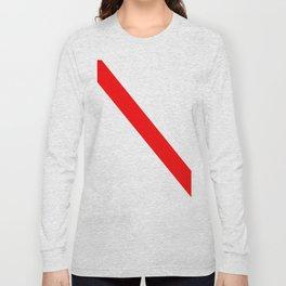 flag of strasbourg Long Sleeve T-shirt