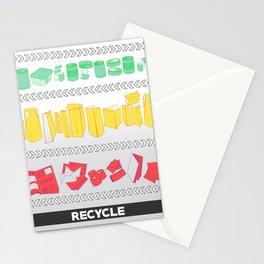 Recycling Piece Stationery Cards