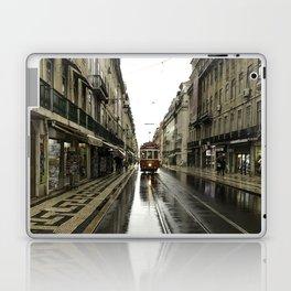 Morning Street Car Laptop & iPad Skin