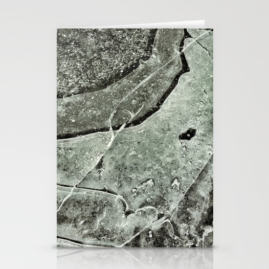 """""""ABSTRACT ICE' Stationery Cards"""