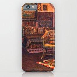 Studio Interior by Kristian Zahrtmann iPhone Case