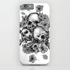 skulls&hibiscus iPhone 6s Slim Case