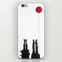 Red Ballon 2 iPhone Skin