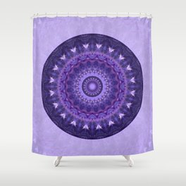 Mandala Universe Shower Curtain