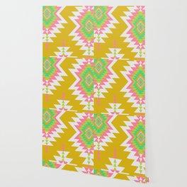 Bohemian shapes Wallpaper