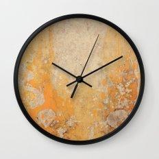 Fire Skull I Part I Wall Clock