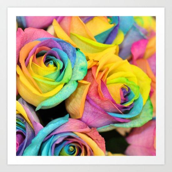 Rainbowlicious Art Print