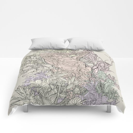 Contrast of life Comforters