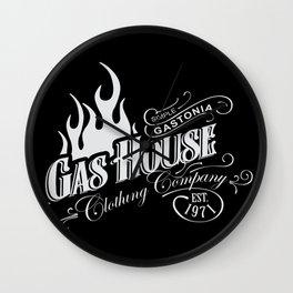 Gas House Flame Logo Wall Clock