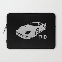 Ferrari F40 - silver - Laptop Sleeve